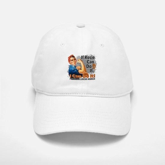 If Rosie Can Do It MS Baseball Baseball Cap
