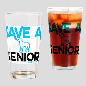 Save a senior Drinking Glass