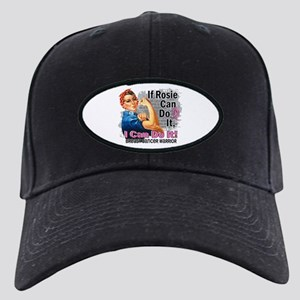 If Rosie Can Do It Breast Cancer Black Cap