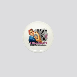 If Rosie Can Do It Breast Cancer Mini Button