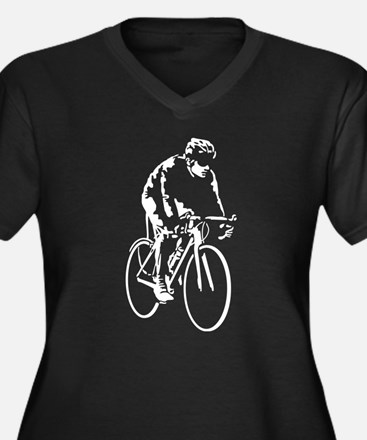bicycle racer Plus Size T-Shirt