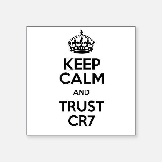 Keep Calm and Trust CR7 Sticker