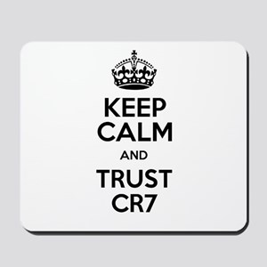 Keep Calm and Trust CR7 Mousepad