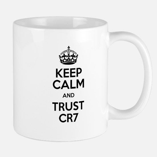 Keep Calm and Trust CR7 Mug