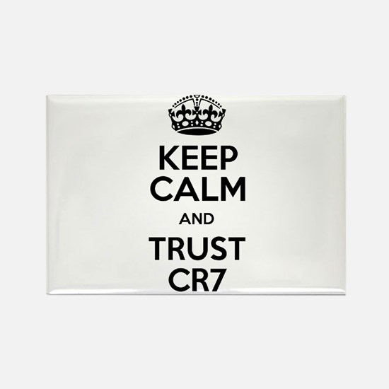 Keep Calm and Trust CR7 Rectangle Magnet