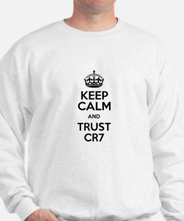 Keep Calm and Trust CR7 Jumper