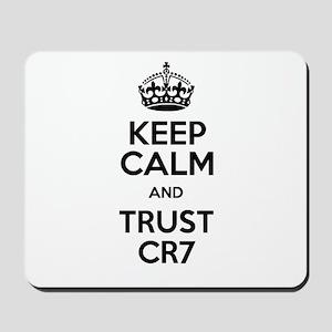 Keep Calm and Love CR7 Mousepad