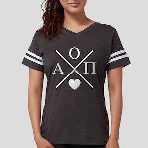 Alpha Omicron Pi Cross Womens Football Shirt