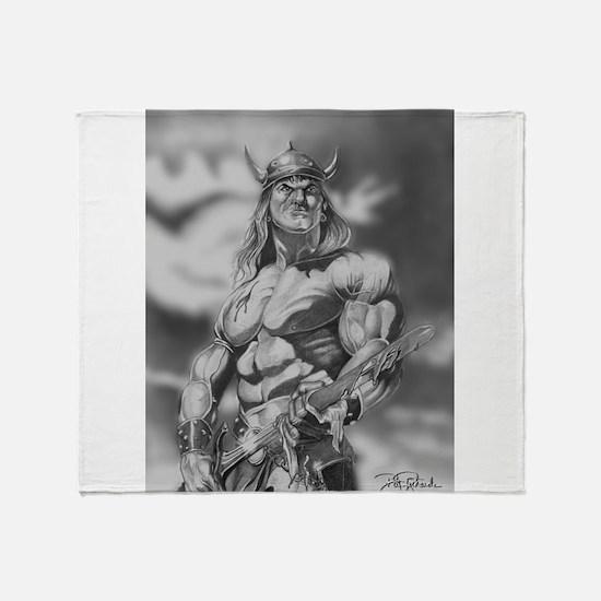Conan The Barbarian Throw Blanket