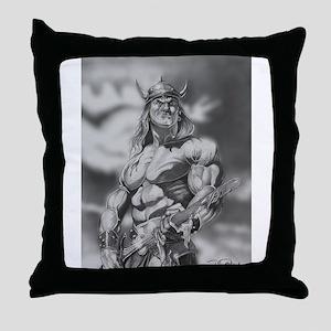 Conan The Barbarian Throw Pillow
