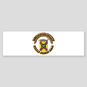COA - 187th Armor Regiment Sticker (Bumper)