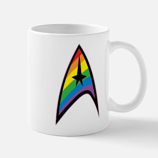 Star Trek LGBTQ Rainbow Mug