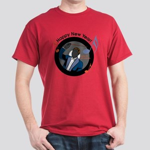 Musical New Year Dark T-Shirt
