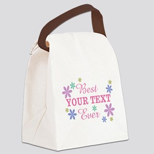 PERSONALIZE Best Ever Canvas Lunch Bag