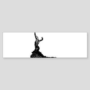 Flamenco dancer - bailaora Sticker (Bumper)