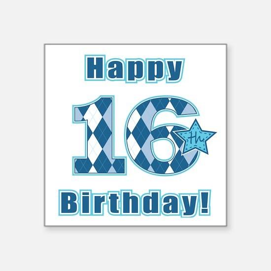 Happy 16th Birthday! Sticker