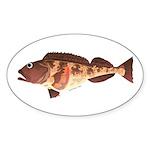 Lingcod fish Sticker