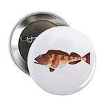 "Lingcod fish 2.25"" Button"