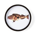 Lingcod fish Wall Clock