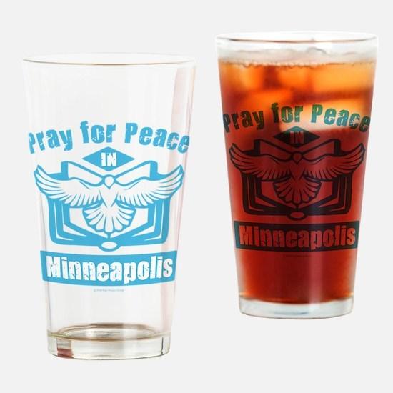 Pray for Minneapolis Drinking Glass