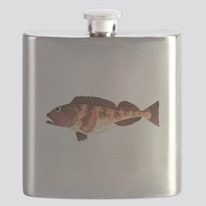 Lingcod fish Flask