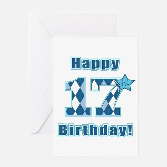 Happy 17th Birthday! Greeting Card