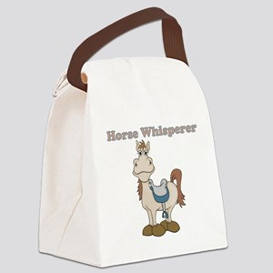 Horse Whisperer Canvas Lunch Bag