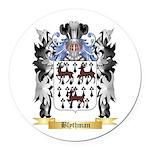 Blythman Round Car Magnet