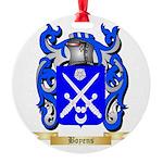 Boyens Round Ornament