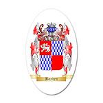 Boyden 35x21 Oval Wall Decal