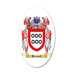 Boxwell 35x21 Oval Wall Decal