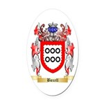 Boxell Oval Car Magnet