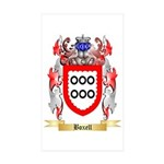 Boxell Sticker (Rectangle 50 pk)