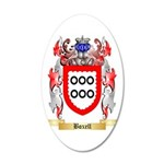 Boxell 35x21 Oval Wall Decal