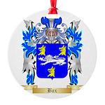 Box Round Ornament