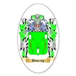 Bowring Sticker (Oval 10 pk)
