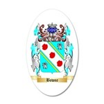 Bowne 35x21 Oval Wall Decal