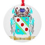Bown Round Ornament
