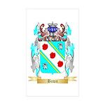 Bown Sticker (Rectangle 10 pk)