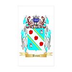 Bown Sticker (Rectangle 50 pk)