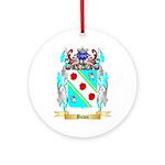 Bown Ornament (Round)