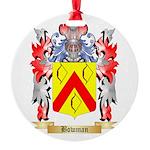 Bowman Round Ornament