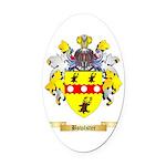 Bowlster Oval Car Magnet