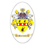 Bowlster Sticker (Oval 50 pk)