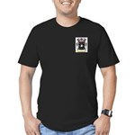 Bowling Men's Fitted T-Shirt (dark)