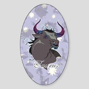 Starlight Taurus Sticker (Oval)