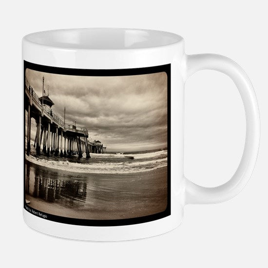 Huntington Beach CA Pier Mug