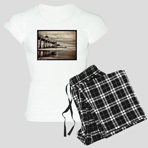 Huntington Beach CA Pier Pajamas
