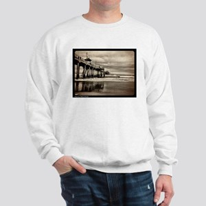 Huntington Beach CA Pier Sweatshirt