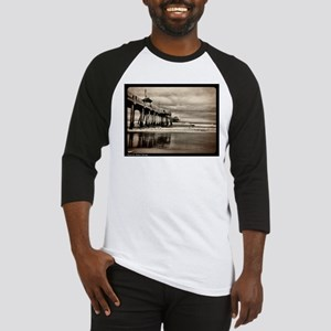 Huntington Beach CA Pier Baseball Jersey